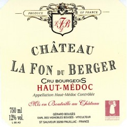 Chateau La Fon du Berger 2007