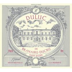 DULUC DE BRANAIRE DUCRU 2010