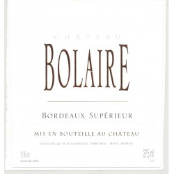 CHATEAU BOLAIRE 2013